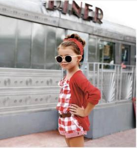 Fashion kid red