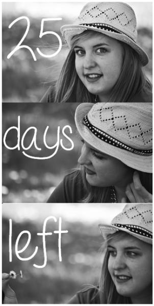 25 days left