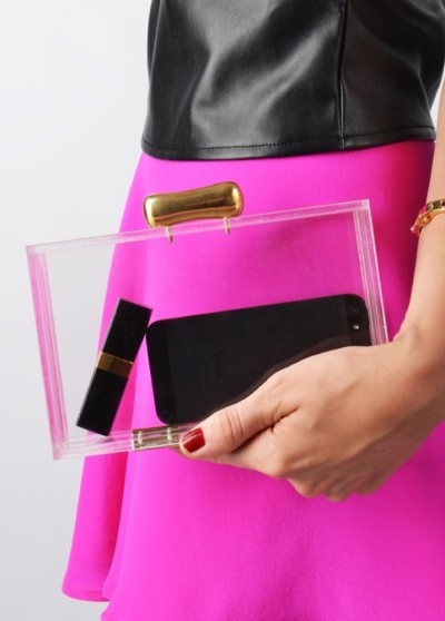 Transparent clutch 1